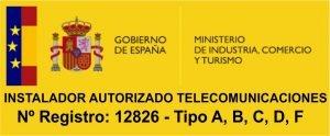 instaladores autorizados por el Ministerio de Industria