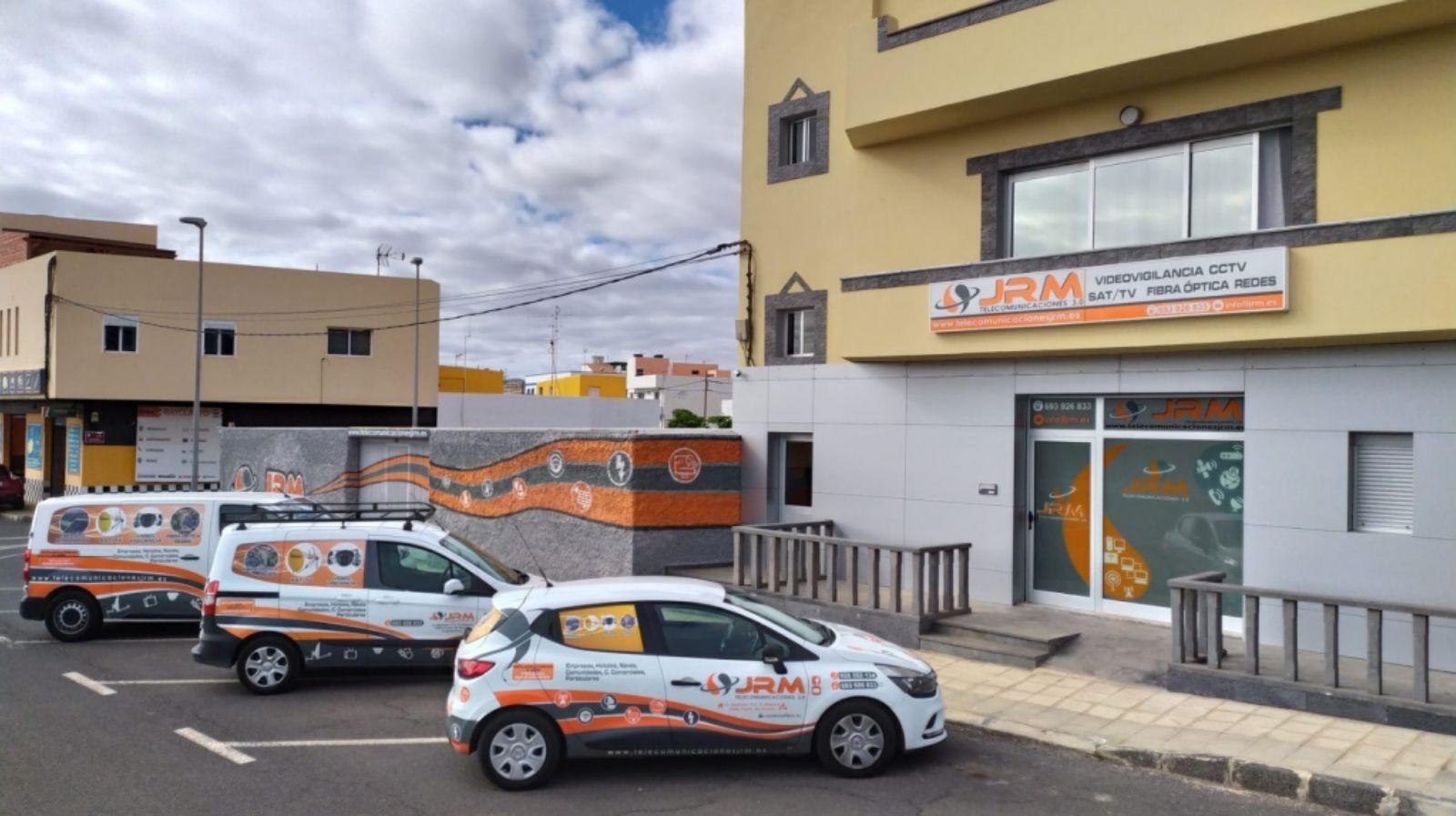 Servicios de telecomunicaciones Fuerteventura JRM